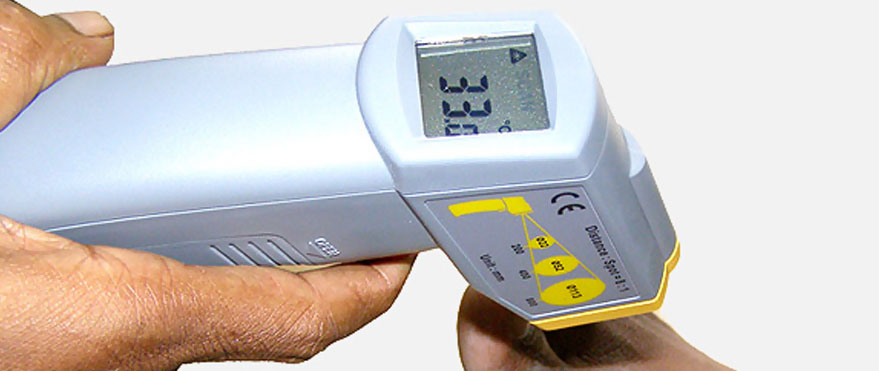 Non contact IR Foot Thermometer- MT4 MT4
